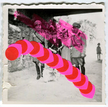 Load image into Gallery viewer, Handmade Collage Realized On Vintage Soldier Photos - Naomi Vona Art