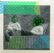 Load image into Gallery viewer, Contemporary Collage Art On Retro Photography - Naomi Vona Art