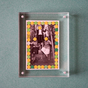 Group Photo Collage, Paper Confetti Decoration - Naomi Vona Art