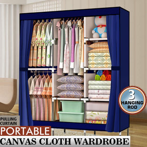 Portable Closet Wardrobe Clothes