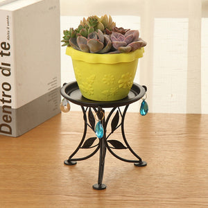 Balcony Flowerpot Shelf Plant Pot
