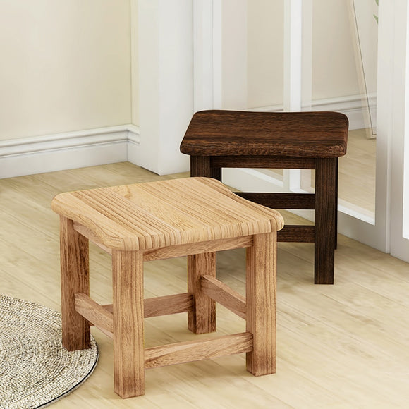 small square bench