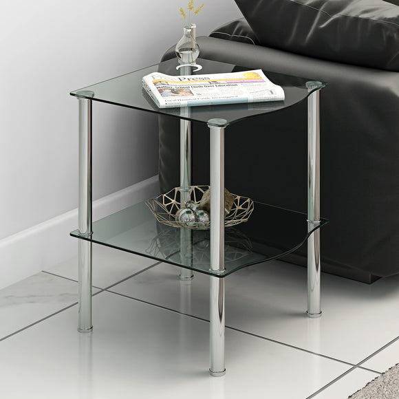Small Table Black/Clear