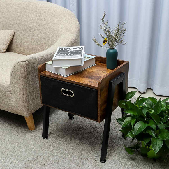 Nordic High foot Nightstand