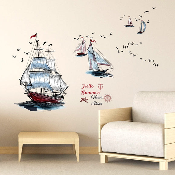 Waterproof Removable Art Decals Mural