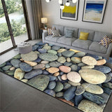 Stone Printed Soft Flannel Carpet