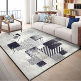 Abstract Art Colorful Lattice Carpet