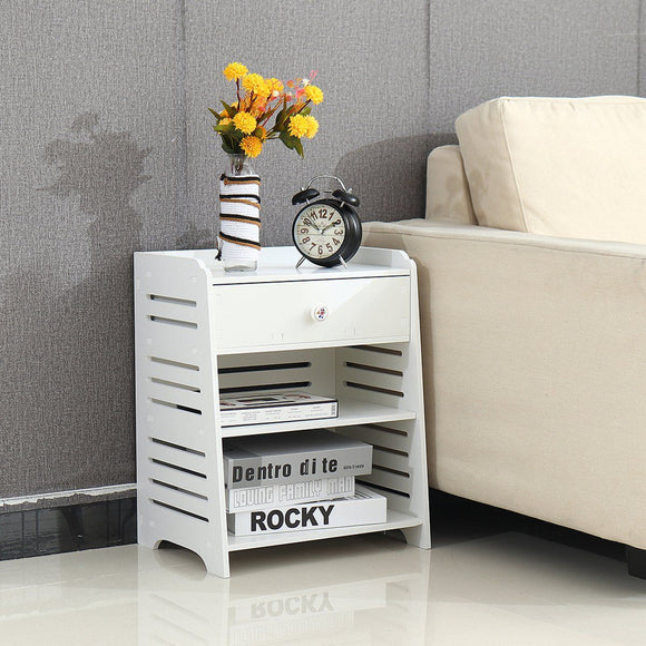 Modern Simple PVC Nightstand