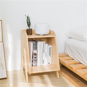 Wood Bedside Cupboard Nightstand