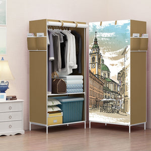 Light Dust-proof Cloth Closet