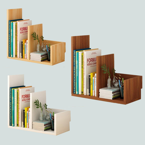 Bookcase file storage rack