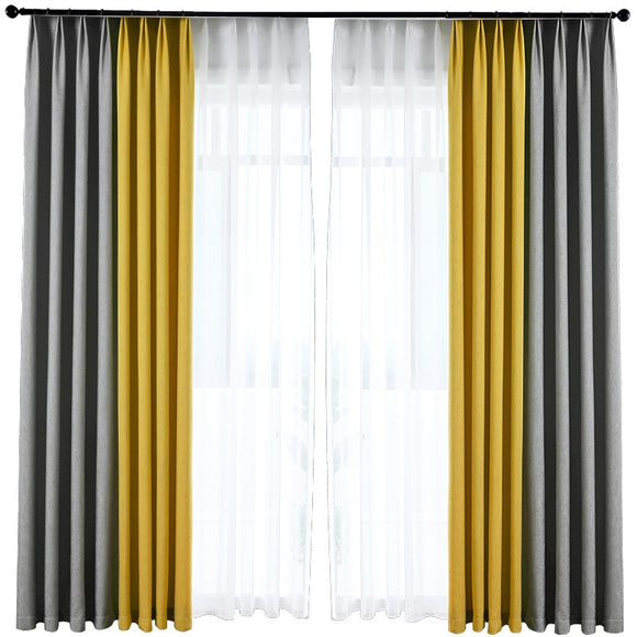 Stitching Blackout Curtains