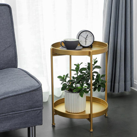 Metal Round Small Table