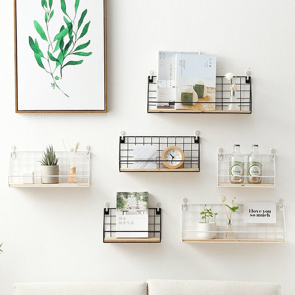 Metal Iron Sundries Storage Rack
