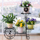 Iron Green Flower Pot