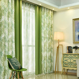 Green Blackout Curtains