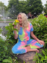Load image into Gallery viewer, Tie Dye Jogger Lounge Set