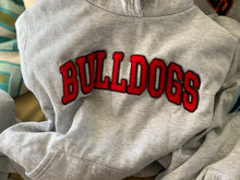 Load image into Gallery viewer, Red-Bulldogs Vintage Hoodie