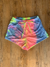 Load image into Gallery viewer, Tie Dye Lounge Shorts Set
