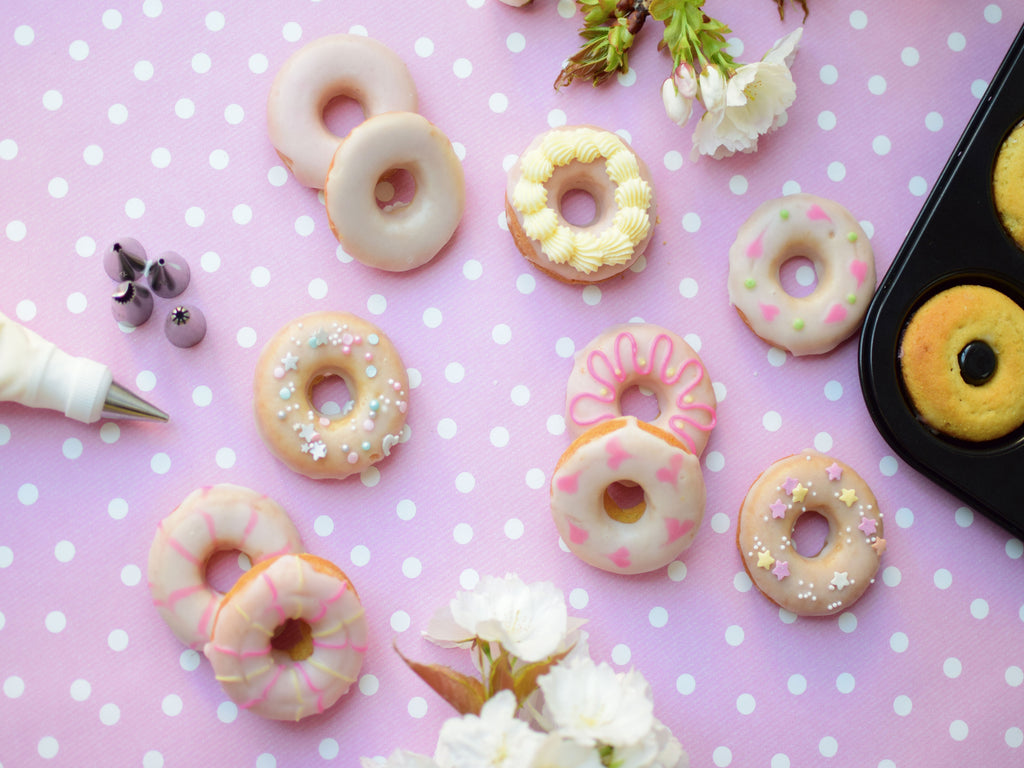 Delicious Baked Ring Doughnuts