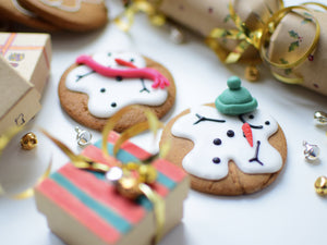 Melting Gingerbread Snowmen
