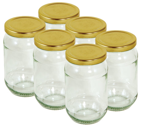 Tala Jar Gold + Screw Lid 454g/16oz Pack of 6