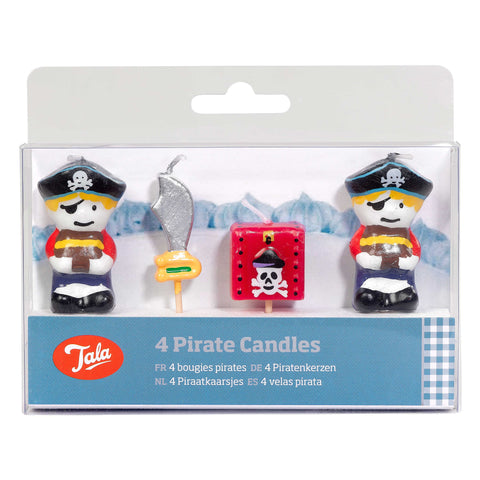 Tala 4 Pirate Candles