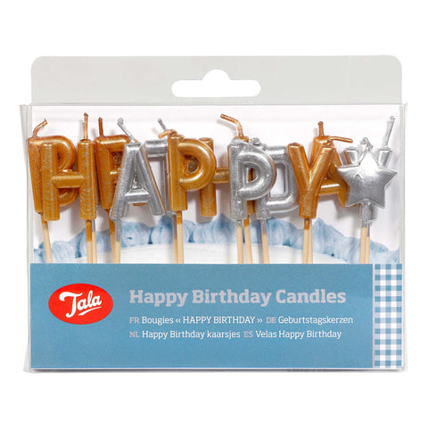 Tala Happy Birthday Candles