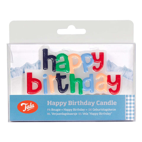 Tala Happy Birthday Candle