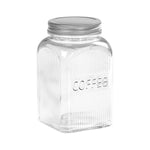 Coffee Glass storage canister 1250ml