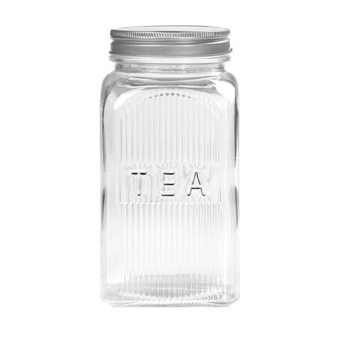 Tea Glass storage canister 1250ml