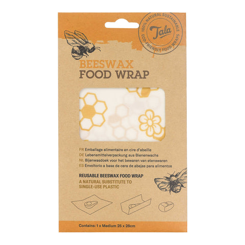 Tala Food Wax Wrap single pack 25x 28cm