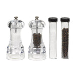 Tala Performance Set of 2 Acrylic Salt & Pepper Mills - Promotion with refill