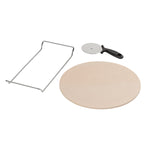 Tala 32cm Pizza Stone With Pizza Cutter