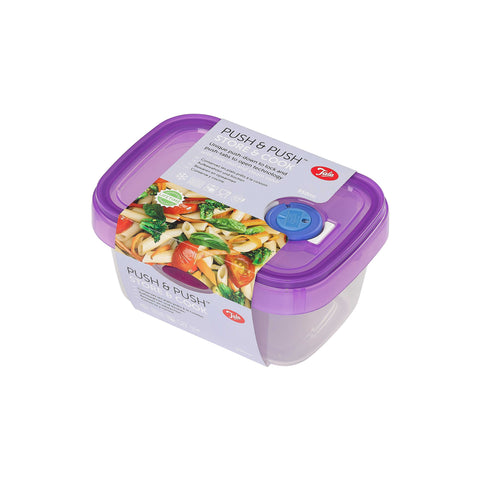 Tala Push & Push Food Storage Container with Date dial and steam Release 950ml
