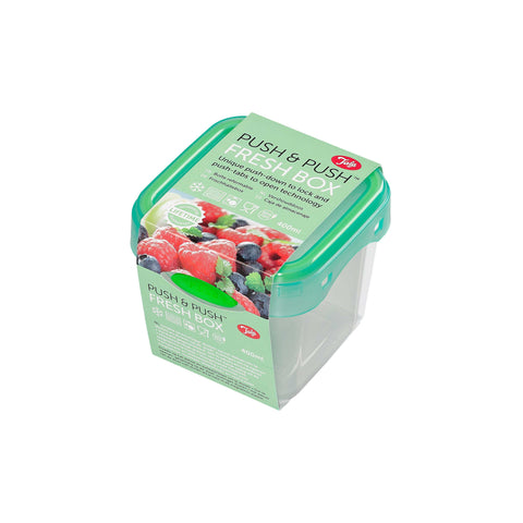 Tala Push & Push Plastic Food Storage Container 400ml