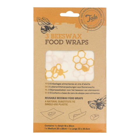 Tala Honeycomb Food Wax Wraps set of 3