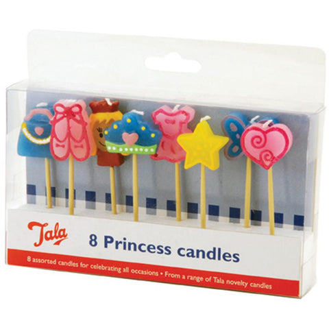 Tala 8 Princess Candles