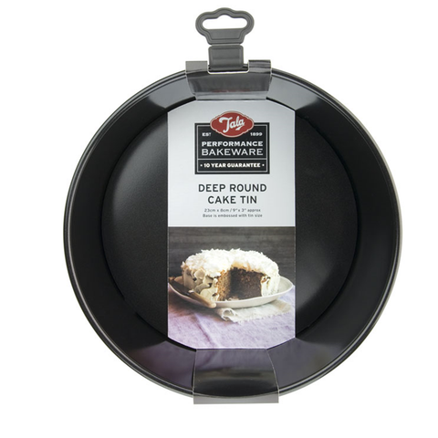 Tala Performance Non- Stick 23cm dia round deep cake pan