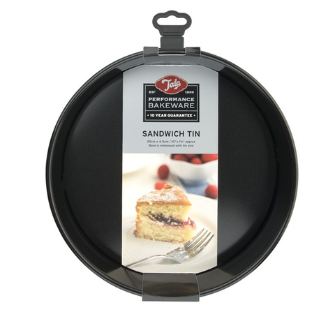 Tala Performance Eclipse Non-Stick 25cm Sandwich Cake tin