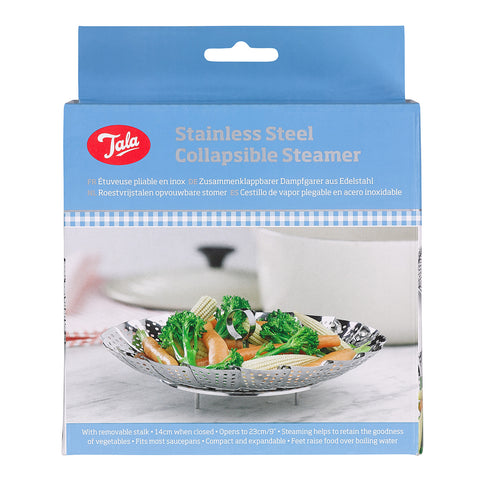 Tala Stainless Steel Collapsible Steamer Basket