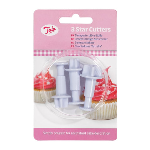 Tala 3 Piece Star Cutters