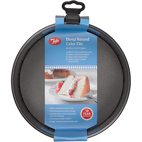 Tala Everyday 20cm Deep Round Cake Tin