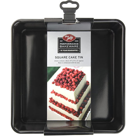 Tala Performance 23cm Sqare Cake Tin