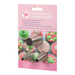 Tala 3 Open Tip Nozzles With Icing Bag