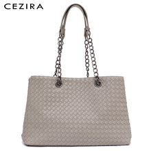 Load image into Gallery viewer, Cezira Harrogate Woven Tote Shoulder Bag