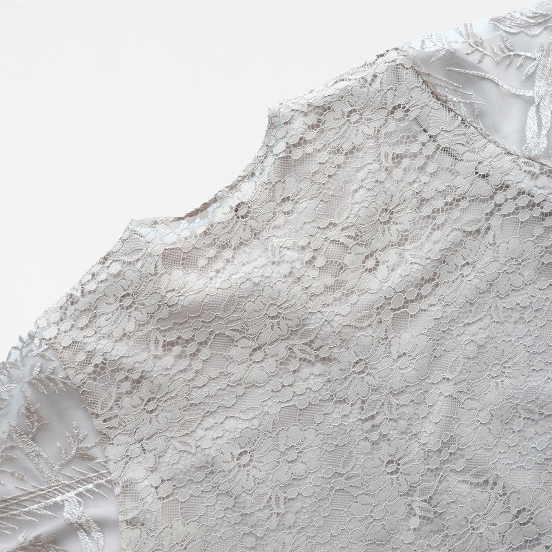 Lace Dress Butter Cream (Reject)