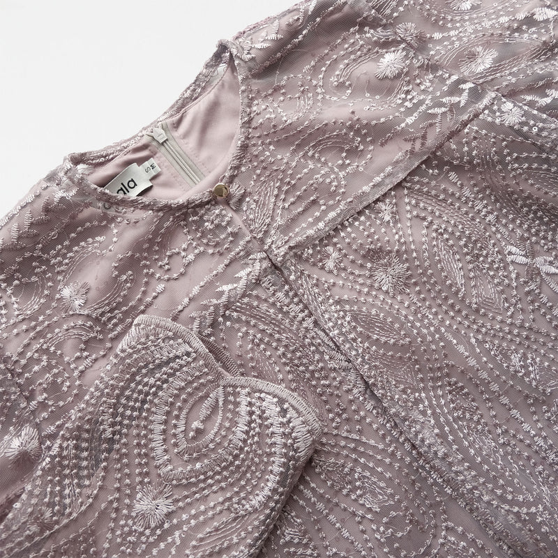 Lace Dress Plum (Reject)