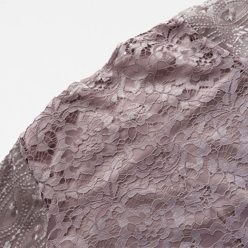 Lace Dress Plum