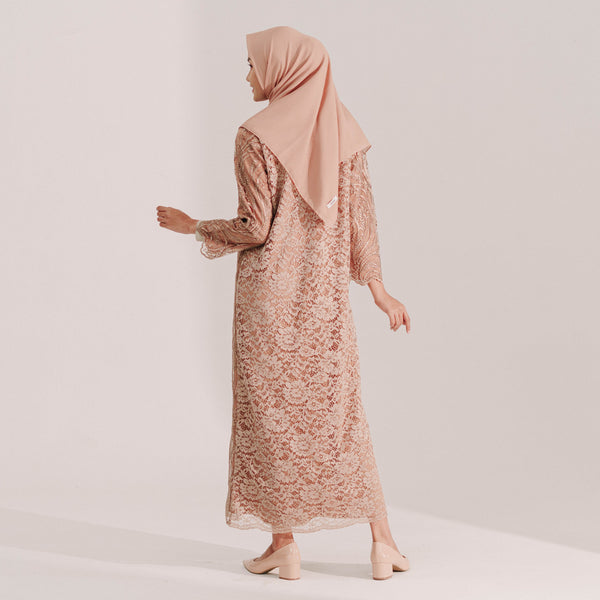 Lace Dress Caramel (Reject)